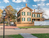Abraham Lincoln House in Autumn Royalty Free Stock Photo