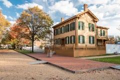 Abraham Lincoln House i höst Royaltyfri Foto