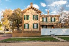 Abraham Lincoln House i höst Arkivfoto