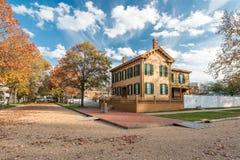 Abraham Lincoln House i höst Arkivbilder