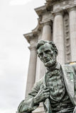Abraham Lincoln i San Francisco California USA Arkivfoton