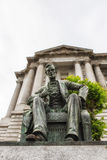 Abraham Lincoln i San Francisco California USA Royaltyfri Foto