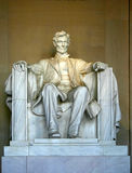 Abraham Lincoln Memorial. The Abraham Lincoln Memorial in Washington D.C Royalty Free Stock Image
