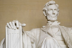 Abraham Lincoln memorial. Closeup - Washington DC 2007 royalty free stock image