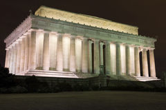 Abraham Lincoln Memorial Foto de Stock