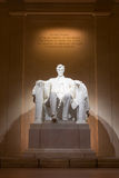 Abraham Lincoln Memorial Arkivbild