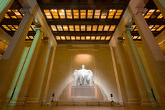 Abraham Lincoln Memorial Royaltyfri Foto