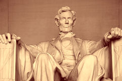 abraham Lincoln memorial Fotografia Stock