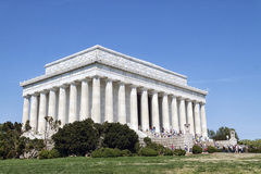 abraham Lincoln memorial Fotografia Stock