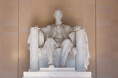 Abraham Lincoln Memorial building Washington DC Stock Image