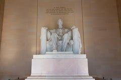 Abraham Lincoln Memorial byggnadsWashington DC Royaltyfri Foto