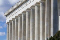 Abraham Lincoln Memorial Detail Image libre de droits