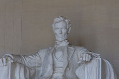 Abraham Lincoln Memorial Detail Royalty Free Stock Photography