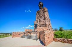 Abraham Lincoln Memorial Monument - Laramie, WY Fotografering för Bildbyråer