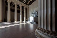 Abraham Lincoln Memorial på soluppgång, Washington DC Royaltyfri Foto