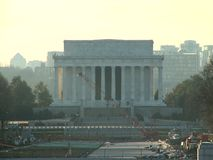 Abraham Lincoln Memorial stock video
