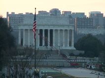 Abraham Lincoln Memorial stock video footage