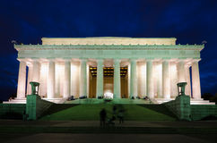 Abraham Lincoln Memorial, Washington DC USA Royalty Free Stock Image