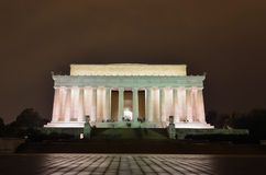 Abraham Lincoln Memorial, Washington DC USA Stock Photos