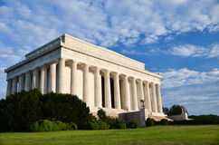 Abraham Lincoln Memorial, Washington DC USA Royalty Free Stock Photo