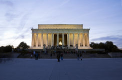 Abraham Lincoln Memorial Stock Images