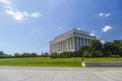 Abraham Lincoln Memorial in Washington DC, USA Stock Images