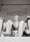 Abraham Lincoln minnesmärke Arkivfoto