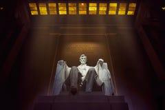 Abraham Lincoln minnesmärke Royaltyfria Foton