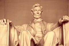 Abraham Lincoln minnesmärke Arkivbild
