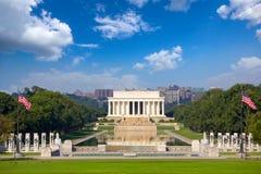 Abraham Lincoln minnesmärke Arkivfoton