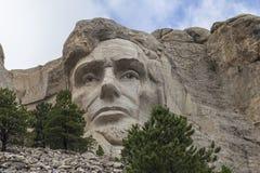 Abraham Lincoln monteringsrushmore Royaltyfria Foton