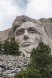Abraham Lincoln monteringsrushmore Arkivbild