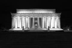 Abraham Lincoln monument Fotografering för Bildbyråer