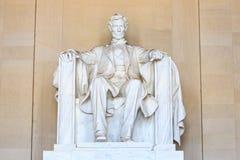 Abraham Lincoln monument i Washington Royaltyfri Bild