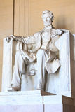 Abraham Lincoln monument in Washington Stock Images