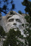 Abraham Lincoln on Mount Rushmore Royalty Free Stock Photography