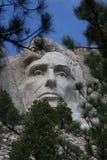 Abraham Lincoln na montagem Rushmore Fotografia de Stock Royalty Free
