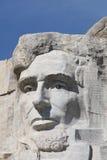 Abraham Lincoln op Onderstel Rushmore Stock Afbeeldingen
