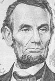 Abraham Lincoln Portrait Royalty Free Stock Photo