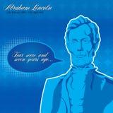 Abraham Lincoln Poster Illustration de Vecteur
