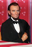 Abraham Lincoln president Arkivbild
