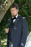 Abraham Lincoln Re-enactor Imagens de Stock