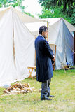 Abraham Lincoln reenactor Royaltyfri Fotografi