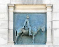 Grand Army Plaza - Brooklyn, New York. Abraham Lincoln Relief under the Triumphal Arch at the Grand Army Plaza in Brooklyn, New York City Royalty Free Stock Photos