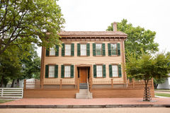 Abraham Lincoln's home Stock Images