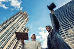 Abraham Lincoln skulptur Fotografering för Bildbyråer