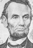 Abraham Lincoln stående Royaltyfri Foto