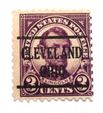 Abraham Lincoln Stamp Royalty Free Stock Photography