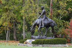 Abraham Lincoln statua Fotografia Stock