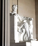 Abraham Lincoln statue. Washington DC, Abraham Lincoln statue in the Lincoln Memorial stock image